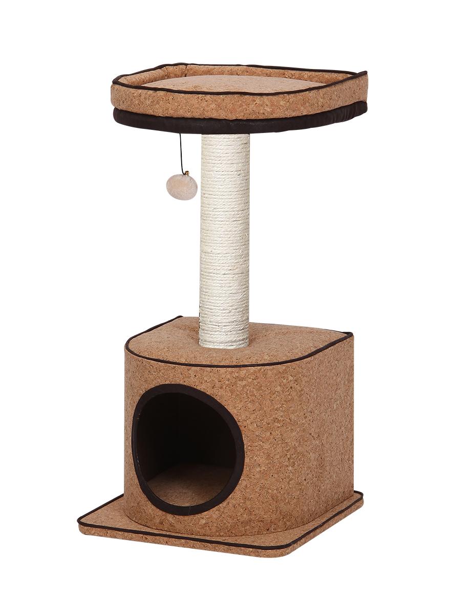 Комплекс (игровая площадка) для кошек Bonsi, 40*40*77 см, Fauna international