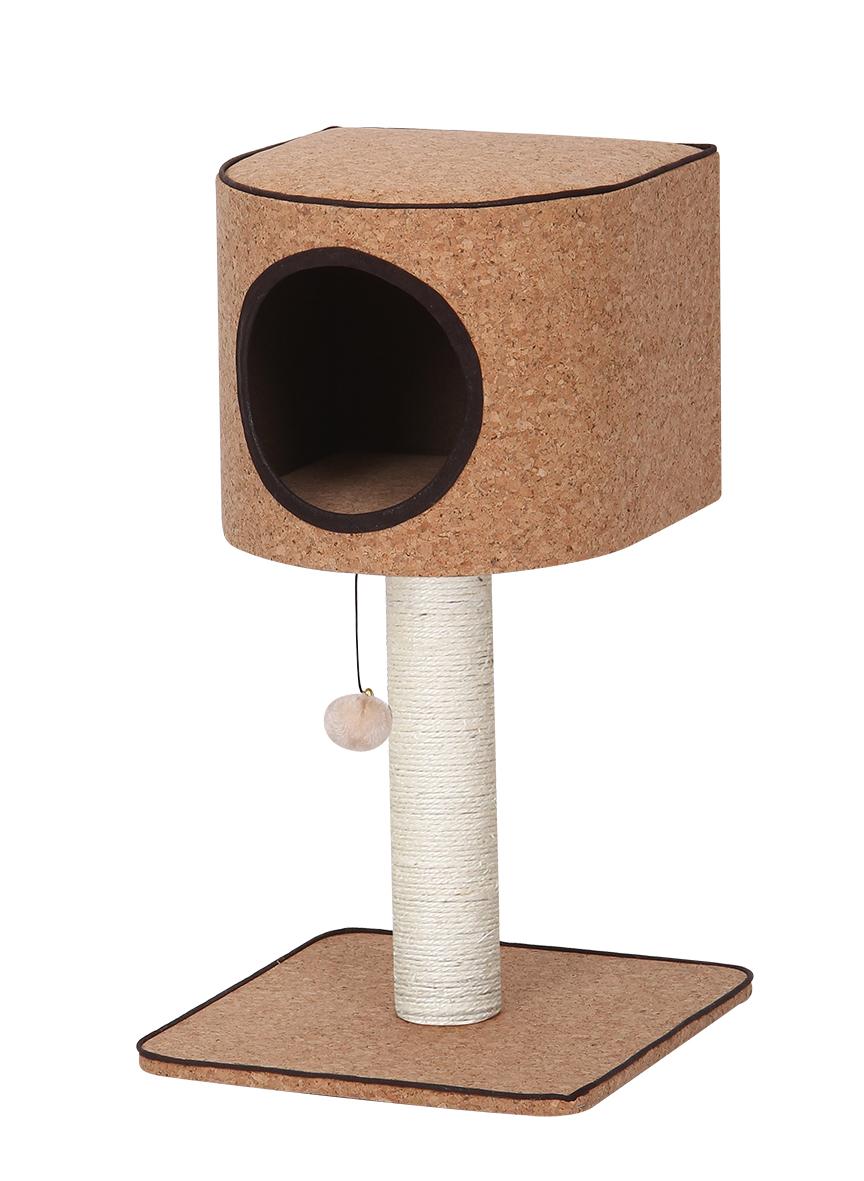 Комплекс (игровая площадка) для кошек Cosimo, 40*40*77 см, Fauna international