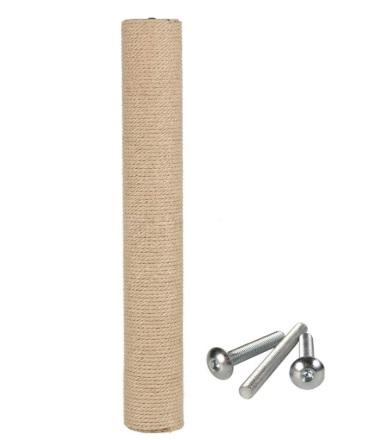 Трикси Запасной столбик для комплексов, диаметр 9 см, в ассортименте, ДЖУТ, Trixie