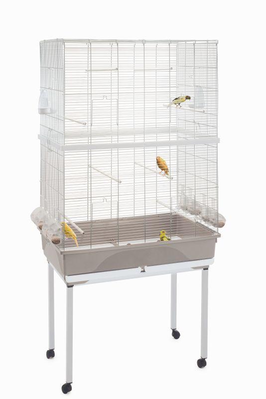 Имак Клетка Tasha Double для птиц, 80,5*49*112/160 см, Imac