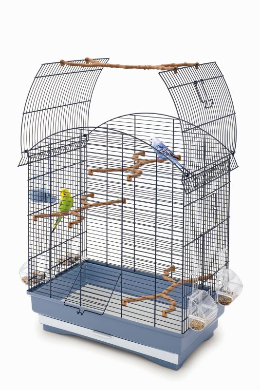 Имак Клетка Agata для птиц, открывающийся верх, 58*33*62,5 см, в ассортименте, Imac
