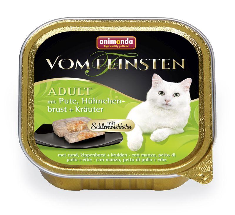 Консервы Анимонда Vom Feinsten Adult Меню для гурманов для взрослых кошек, 32*100 г, Animonda