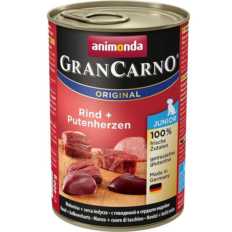 Консервы Анимонда Gran Carno Original Junior для щенков и юниоров, в ассортименте, 6*400 г, Animonda