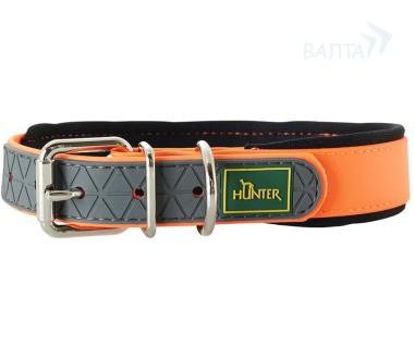 Хантер Ошейник для собак Convenience Comfort 55 биотановый, обхват шеи 42-50 см, ширина 2,5 см, в ассортименте, Hunter