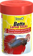 Тетра Корм Betta LarvaSticks в форме мотыля для петушков и лабиринтовых рыб, в ассортименте, Tetra