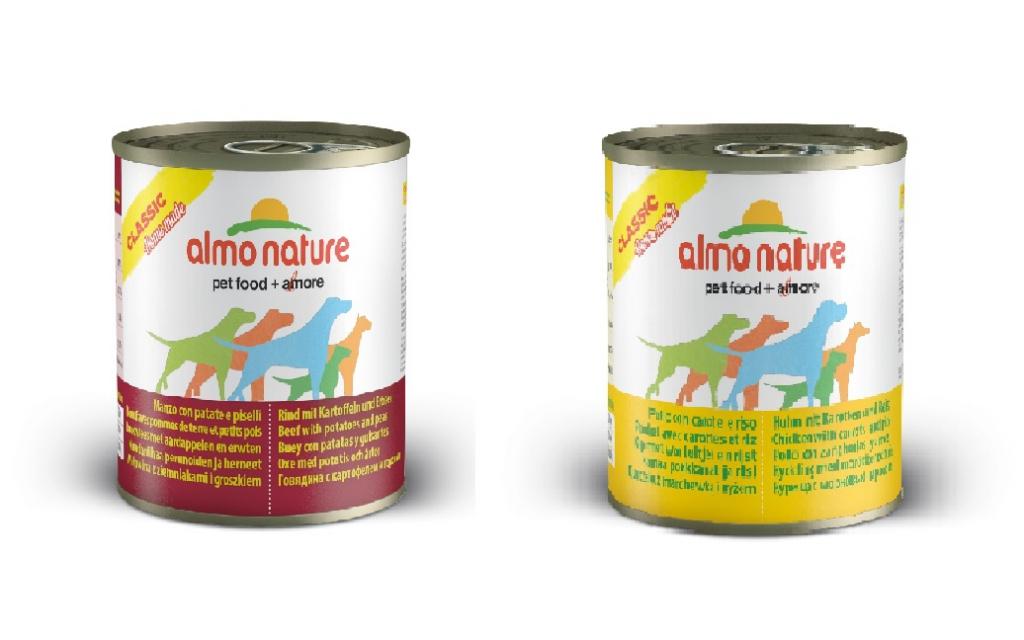 Алмо Натуре Консервы для собак Classic Home Made, в ассортименте, 280 г, Almo Nature