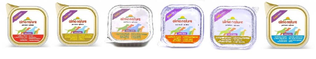 Алмо Натуре Консервы для собак Daily Menu, в ассортименте, 100 г, Almo Nature