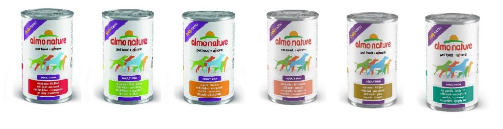 Алмо Натуре Консервы для собак Daily Menu, в ассортименте, 400 г, Almo Nature
