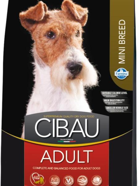 Фармина Корм сухой Cibau для взрослых собак мелких пород, в ассортименте, Farmina
