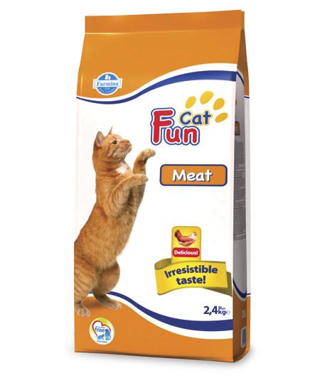 Фармина Корм сухой Fun Cat для кошек, Курица, 20 кг, Farmina