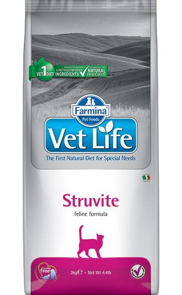 Фармина Корм сухой диетический Vet Life для взрослых при мочекаменной болезни, Struvite, в ассортименте, Farmina