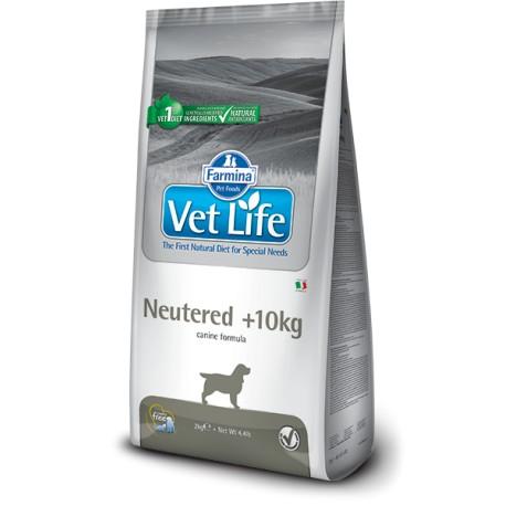 Фармина Корм сухой диетический Vet Life для взрослых стерилизованных собак средних и крупных пород от 10 кг, Neutered, 2 кг, Farmina