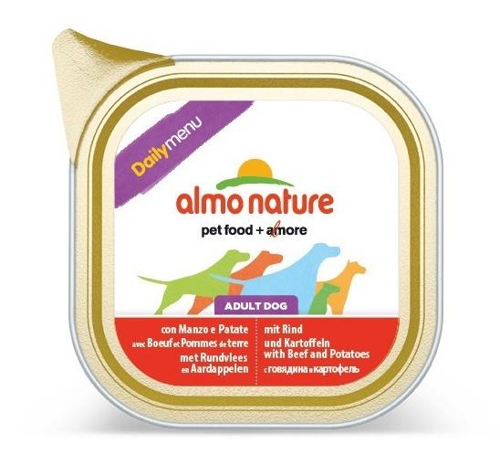 Алмо Натуре Консервы для собак Daily Menu, в ассортименте, 300 г, Almo Nature
