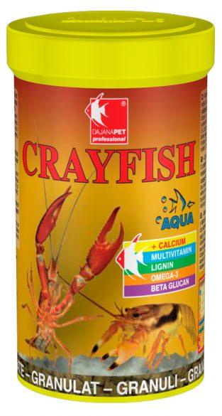 Даяна Корм Crayfish для раков, гранулы, 100 мл / 65 г, Dajana