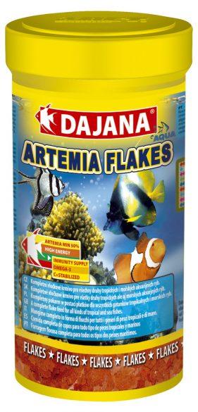 Даяна Корм Artemia Flakes для рыб, хлопья, в ассортименте, Dajana