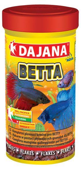 Даяна Корм Betta для петушков и других видов лабиринтовых рыб, хлопья, в ассортименте, Dajana