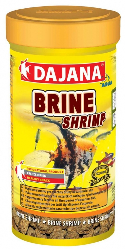 Даяна Корм Brine Shrimp для рыб, артемии, в ассортименте, Dajana