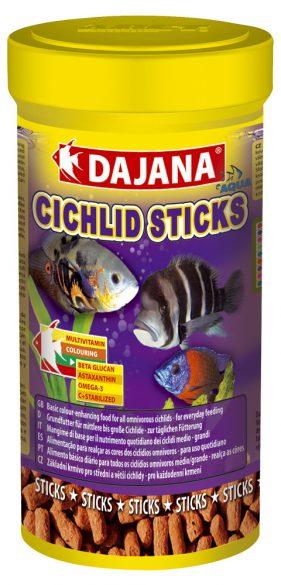 Даяна Корм Cichlid Sticks для рыб семейства цихлид, палочки, в ассортименте, Dajana