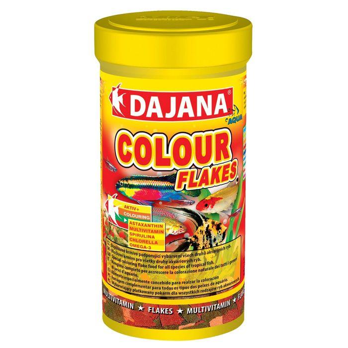 Даяна Корм Color Flakes для рыб, хлопья, в ассортименте, Dajana