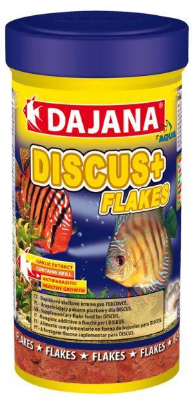 Даяна Корм Discus Plus Flakes для рыб семейства дискусов, хлопья, в ассортименте, Dajana
