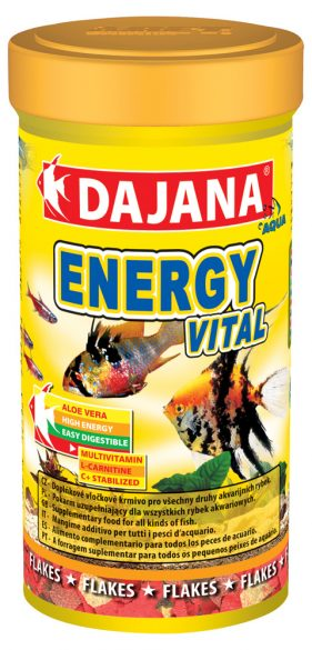 Даяна Корм Evergy Vital Flakes для рыб, хлопья, в ассортименте, Dajana
