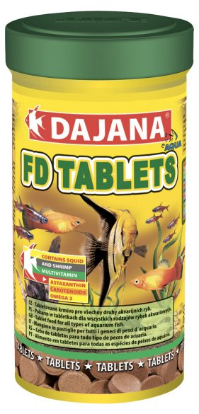 Даяна Корм FD Tropical Tablets для рыб, таблетки, в ассортименте, Dajana