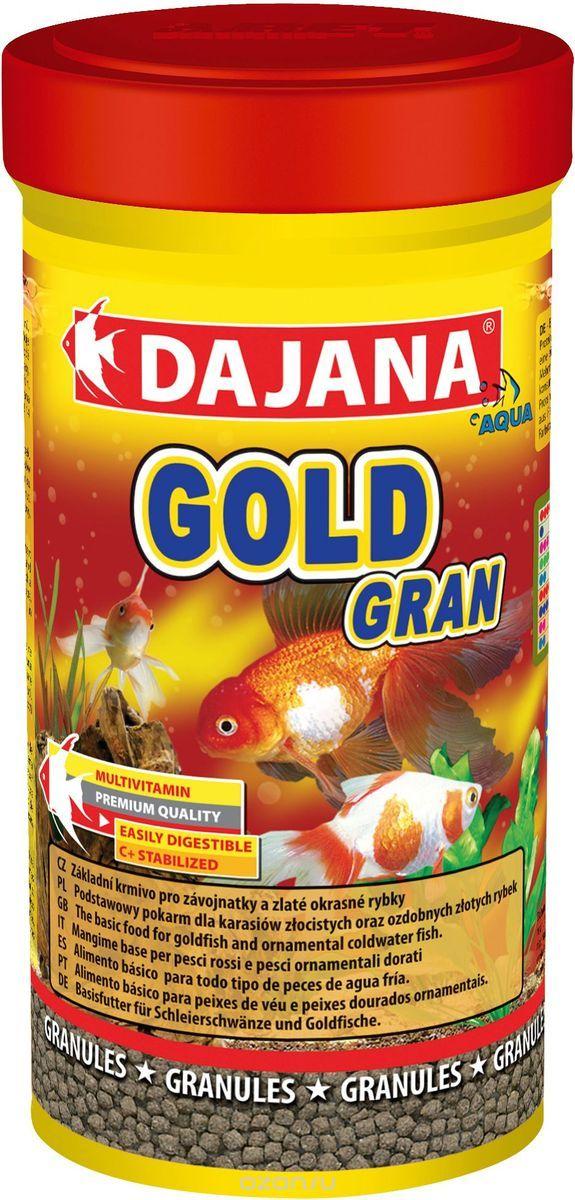 Даяна Корм Gold Gran для золотых рыбок, гранулы, в ассортименте, Dajana