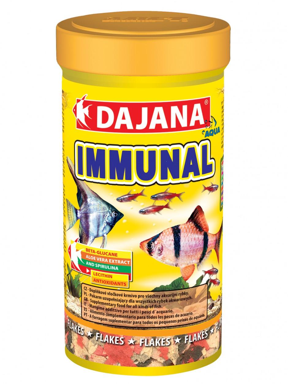 Даяна Корм Immunal для рыб, хлопья, в ассортименте, Dajana