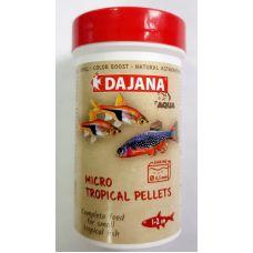 Даяна Корм Micro tropical pellets для неонов, тетровых, гранулы, в ассортименте, Dajana