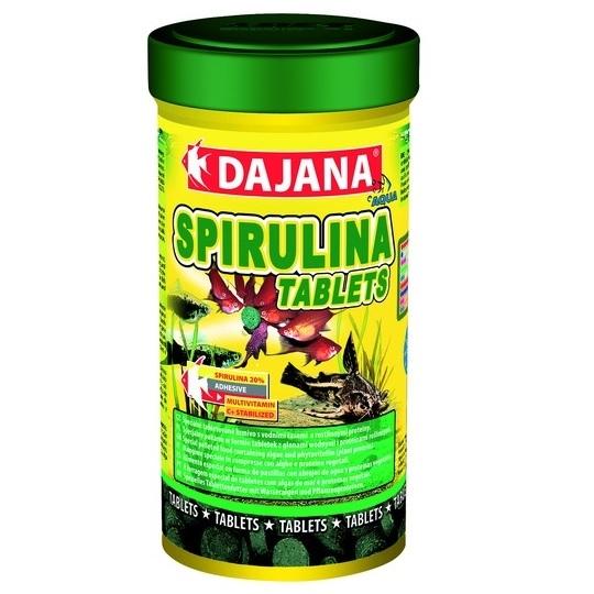 Даяна Корм Spirulina Tablets для рыб, таблетки, в ассортименте, Dajana