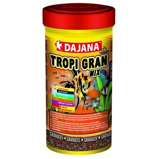 Даяна Корм Tropi Gran для рыб, гранулы, в ассортименте, Dajana