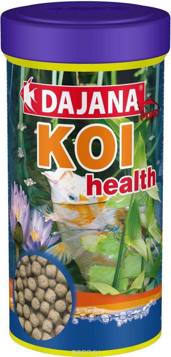 Даяна Корм Koi Health для прудовых рыб, шарики, в ассортименте, Dajana