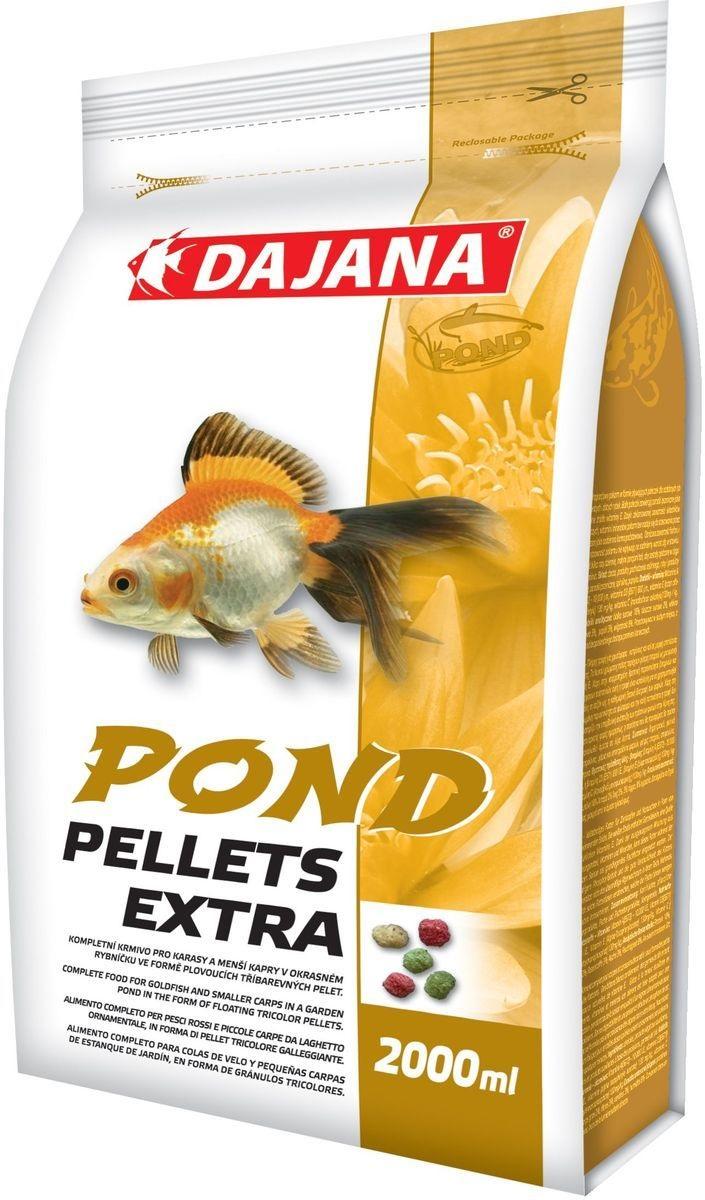 Даяна Корм Pond Pellets Extra для прудовых рыб, палочки, в ассортименте, Dajana