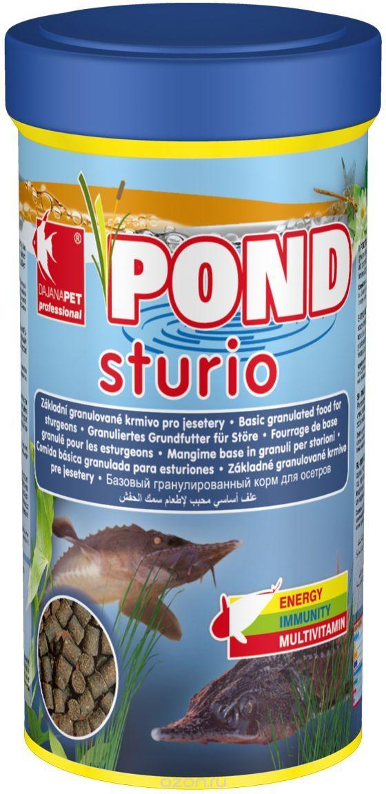 Даяна Корм Pond Sturio для стерляди и других видов прудовых рыб, 1 л, Dajana