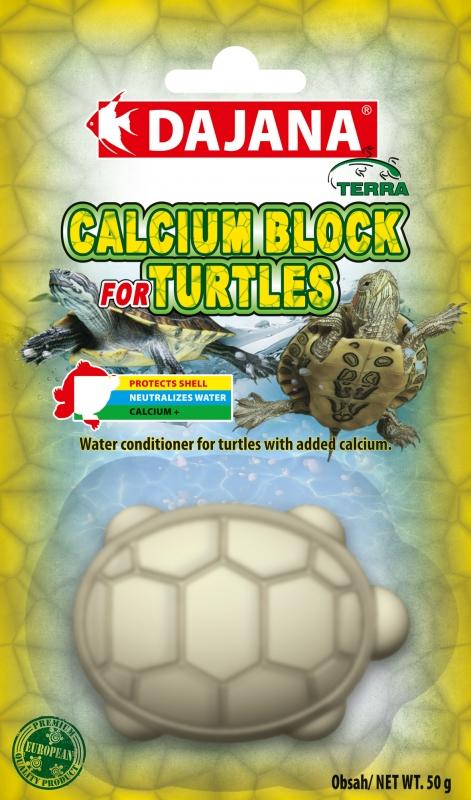 Даяна Минеральный камень Calcium Block для водных черепах, 50 г, Dajana