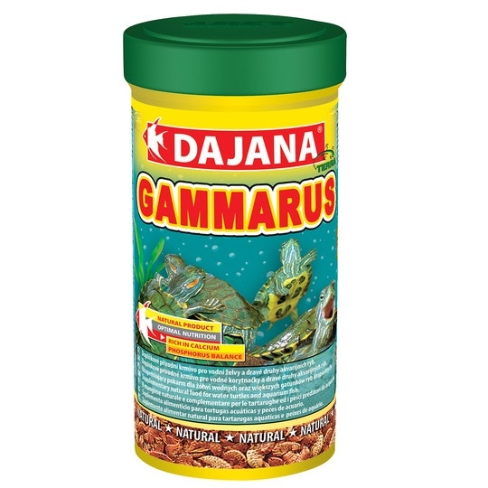 Даяна Корм Gammarus Sticks для водных черепах, палочки, 250 мл, Dajana
