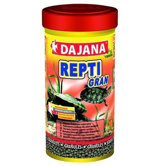 Даяна Корм Repti Gran для водных черепах, гранулы, в ассортименте, Dajana