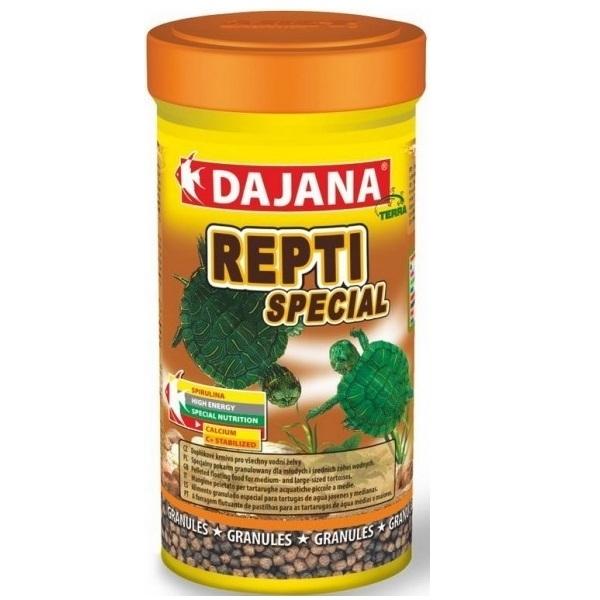 Даяна Корм Repti Special для мелких и молодых водных черепах, гранулы, в ассортименте, Dajana