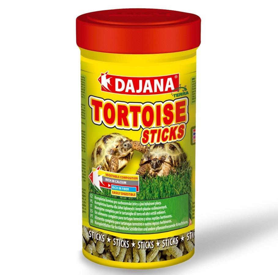 Даяна Корм Tortoise Sticks для сухопутных черепах, палочки, 250 мл, Dajana