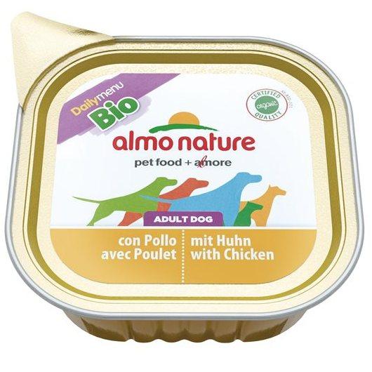 Алмо Натуре Консервы Daily Menu Bio для взрослых собак, 300 г, в ассортименте, Almo Nature