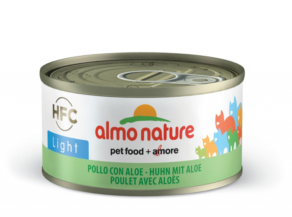 Алмо Натуре Консервы Legend HFC низкокалорийные для взрослых кошек, 70 г, в ассортименте, Almo Nature