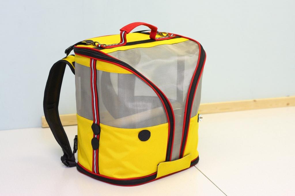 Переноска-рюкзак StePan для птиц, 36*28*39 см, вес 1,6 кг