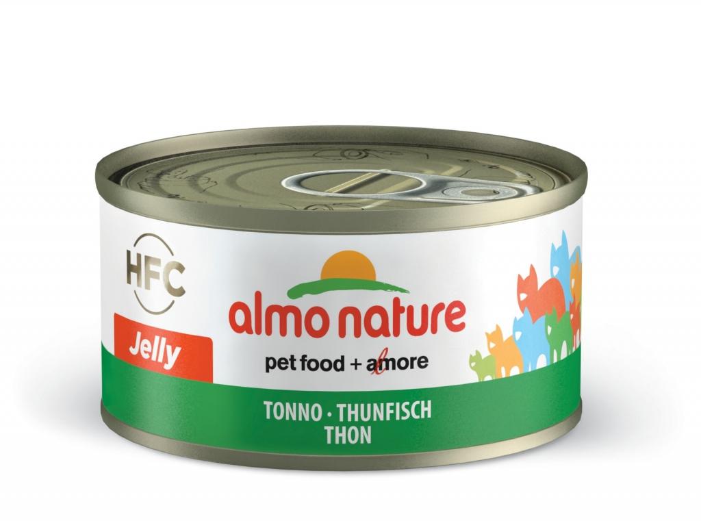 Алмо Натуре Консервы HFC Adult Tuna для взрослых кошек, 70 г, в ассортименте, Almo Nature