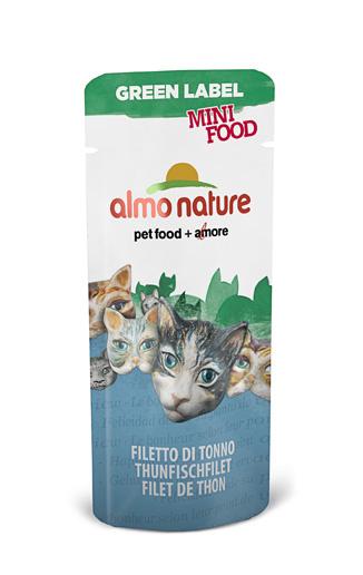 Алмо Натуре Лакомство Green Label Mini Food 99% мяса для кошек, 3 г, в ассортименте, Almo Nature