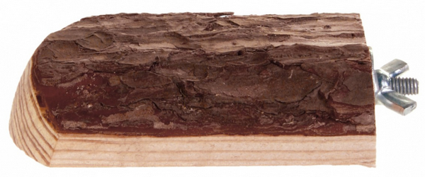 Трикси Площадка деревянная Natural Living, винтовое металлическое крепление, 10*7 см, Trixie