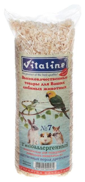 Виталайн Опилки Гипоаллергенные №7 из лиственных пород, 600 г / 14,7 л, Vitaline
