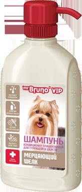 Мр.Бруно Шампунь-кондиционер Vip для собак, в ассортименте, 200 мл, Mr.Bruno