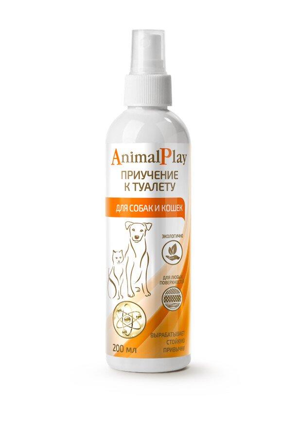 Энимал Плэй Спрей для коррекции поведения кошек и собак, в ассортименте, 200 мл, Animal Play