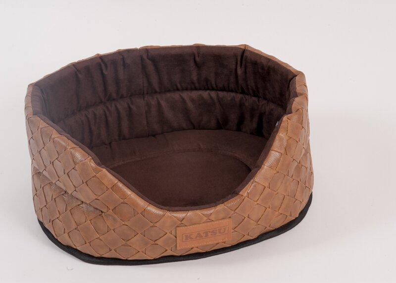Катсу Лежак Skaj для собак и кошек, коричневый, в ассортименте, Katsu