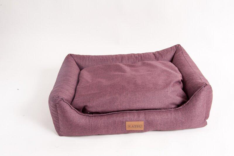 Катсу Лежак Sofa Opi для собак, бордовый, в ассортименте, Katsu